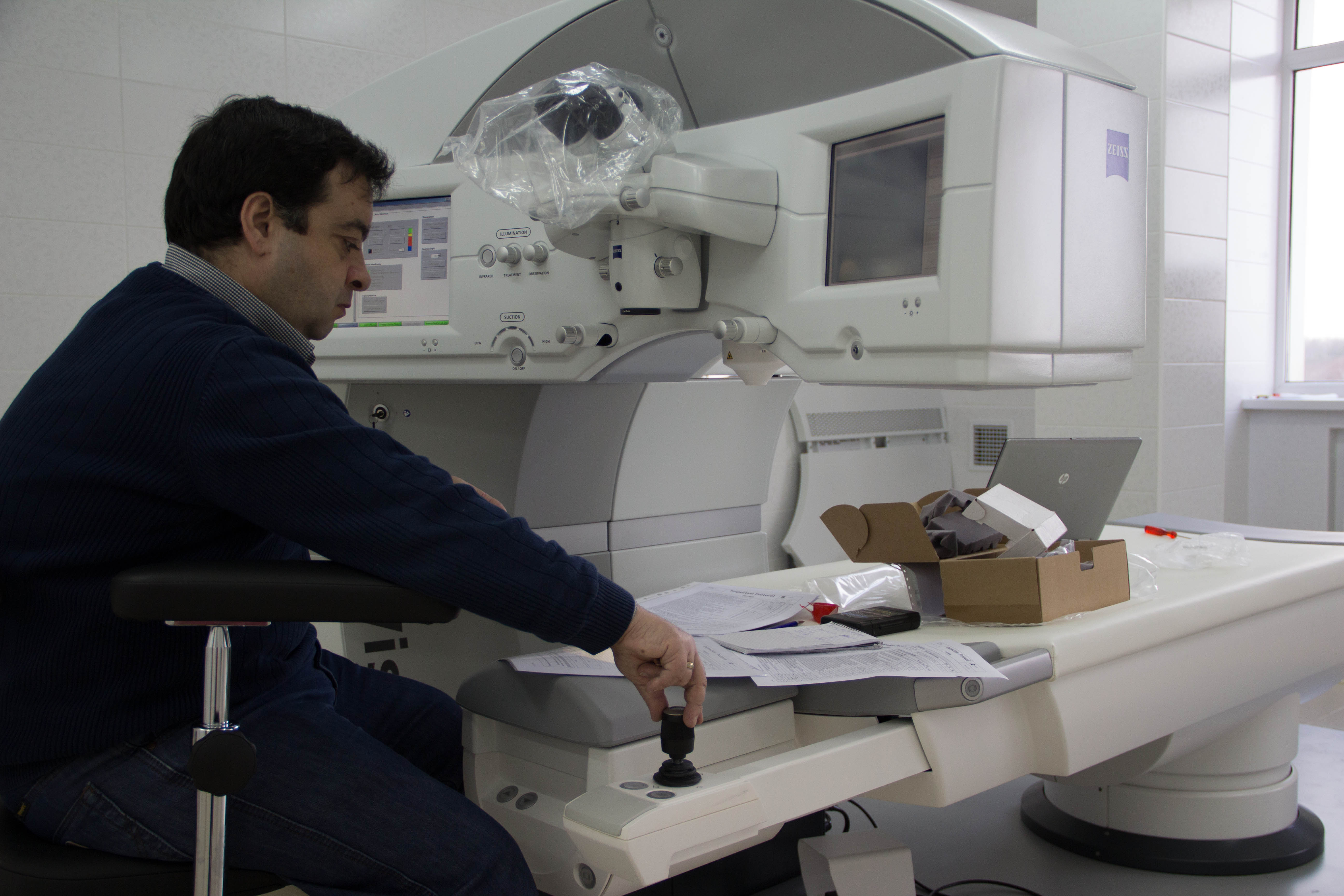 Монтаж медицинского оборудования